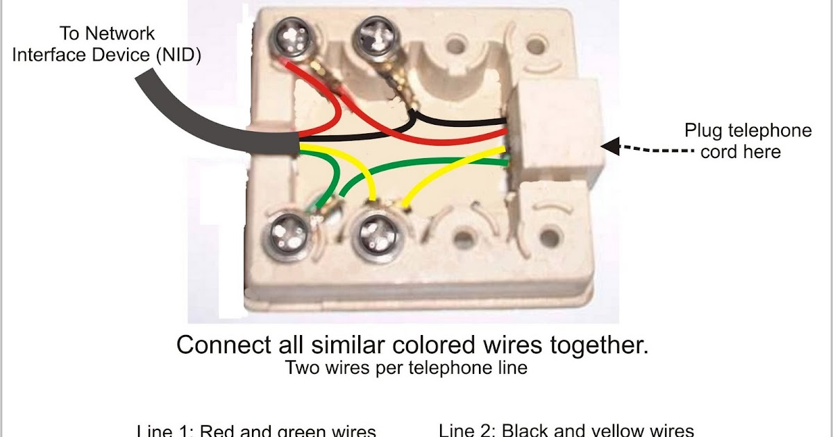 how to hook up a second phone jack How to wire phone jack there is traditionally a second spare you would need to buy or wire a special 2nd-line phone cord to connect your dsl modem.
