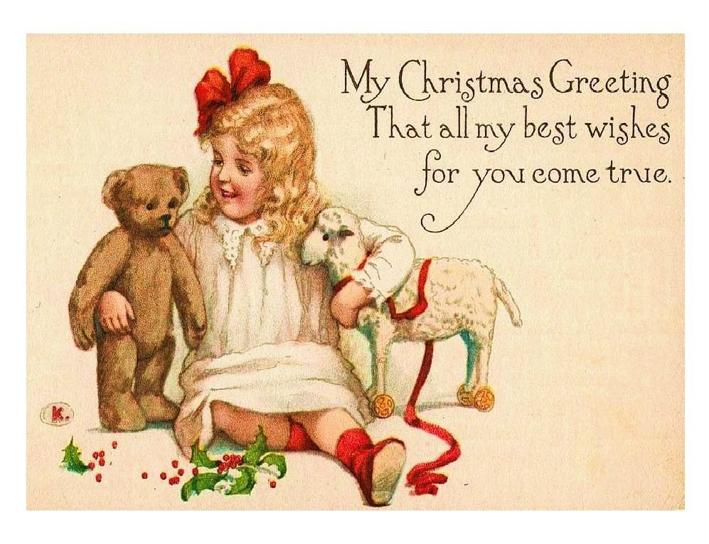 free vintage card images