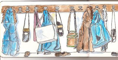 Les croquis de zorglub et de jaouen atelier croquis 2 - Manteau dessin ...