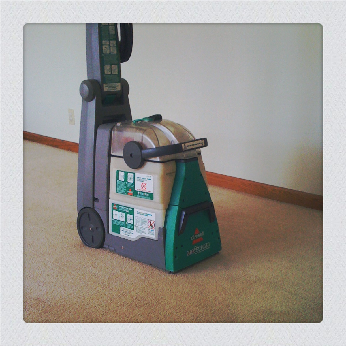 to diy with a bissell take home steam cleaner rented from