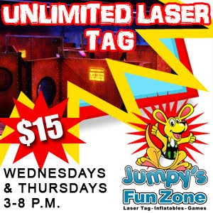 Jumpys Unlimited Laser Tag