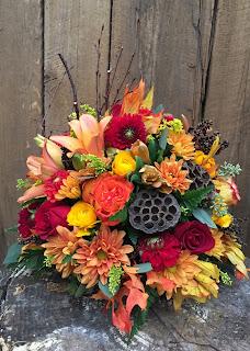 Autumn Centerpiece by Stein Your Florist Co.