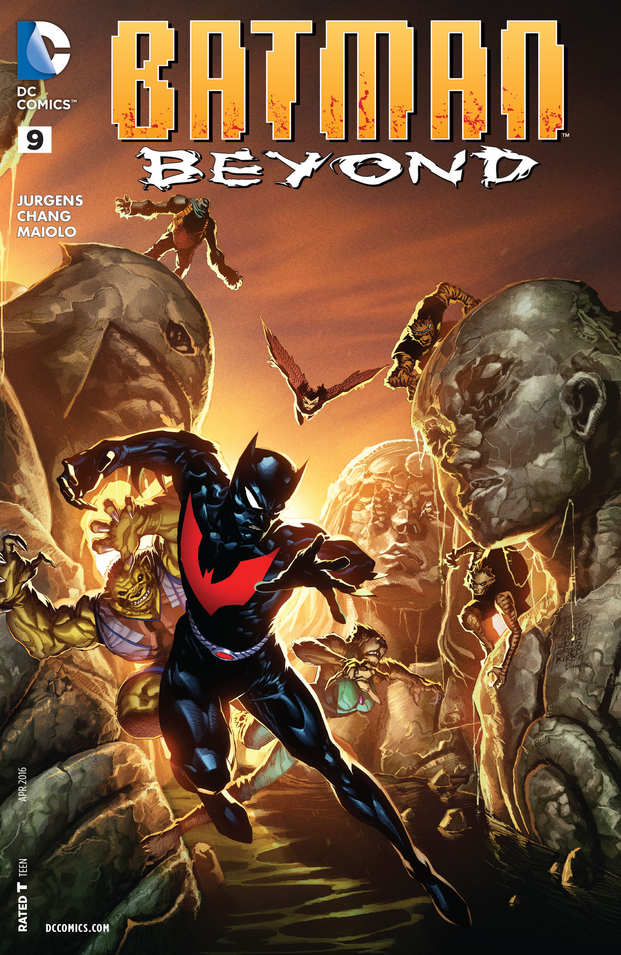 Batman Beyond (2015) Issue #9 #9 - English 1