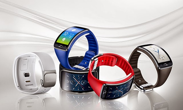 Samsung Gear S Colour Range