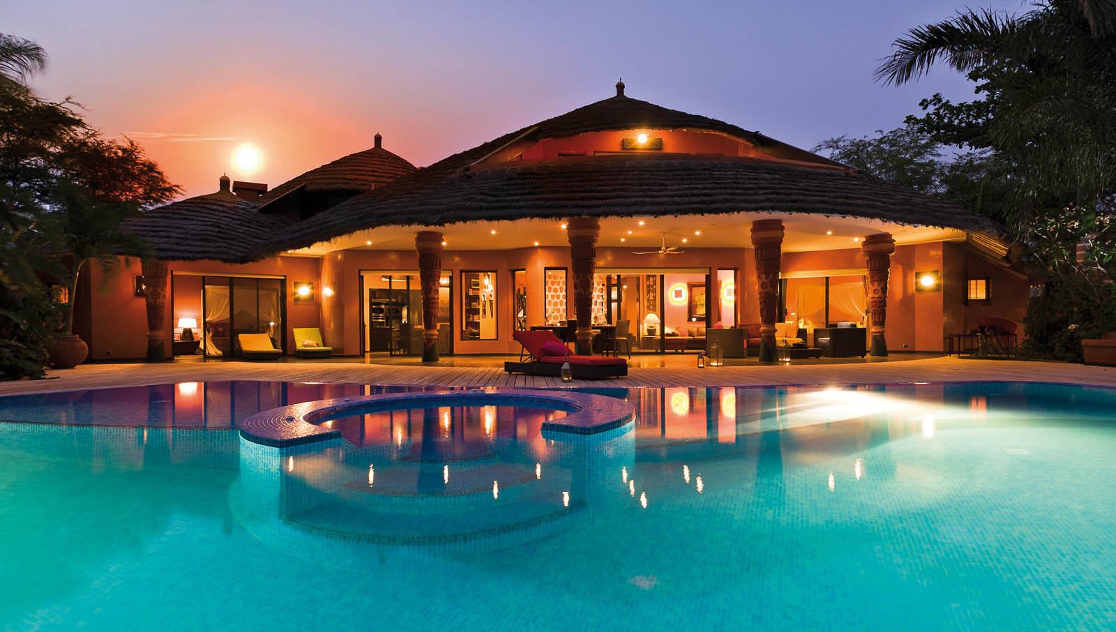 Villa prestige au s n gal villa afro contemporaine for Villa de luxe paris