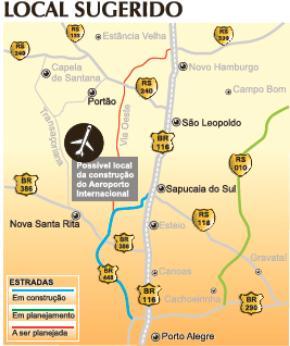 aeroporto - [Brasil] Secretaria de aviação apoia construção de novo aeroporto em Porto Alegre Aeroporto+20+Setembro