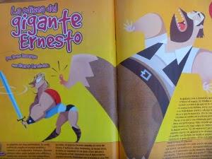 "Cuento ""La odisea del gigante Ernesto"""