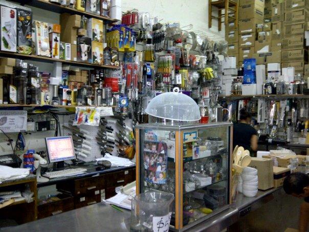Plomi equipando la cocina for Bazares calle jujuy