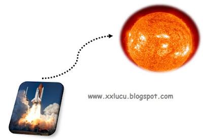 roket produksi messi ke matahari