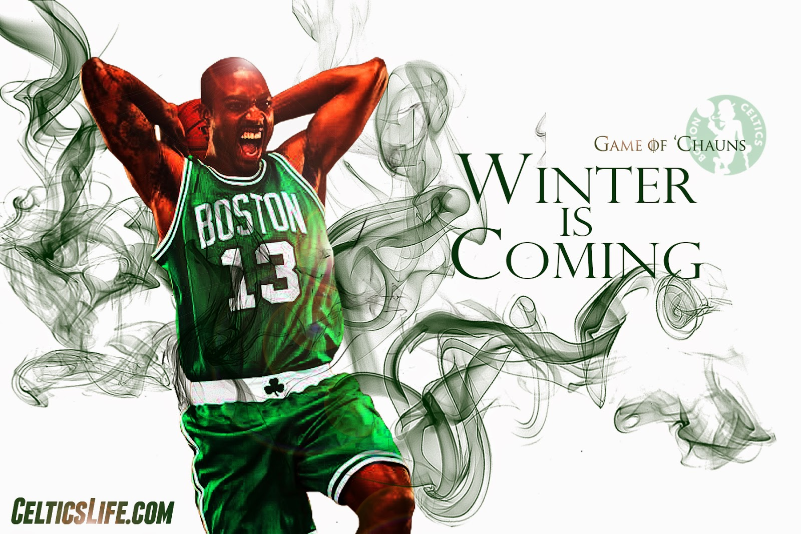 wallpaper wednesday: game of 'chauns the rookies | celticslife