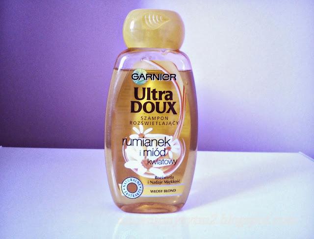 Garnier Ultra Doux Szampon Rozświetlający