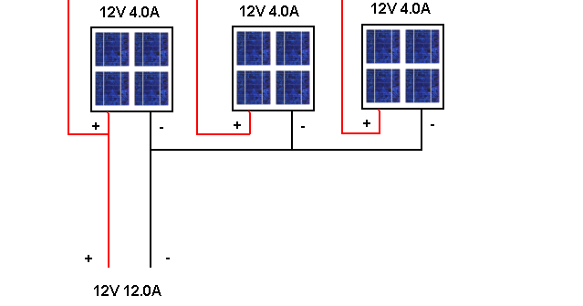 Parallel Connecting Solar Panels