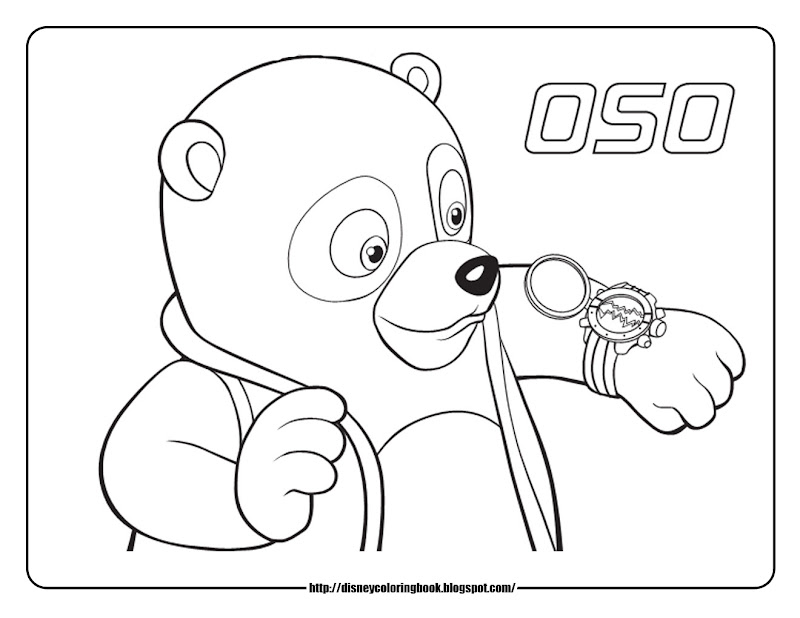 Special Agent Oso 1: Free Disney Coloring Sheets title=