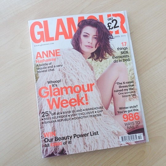 glamour magazine october anne hathaway