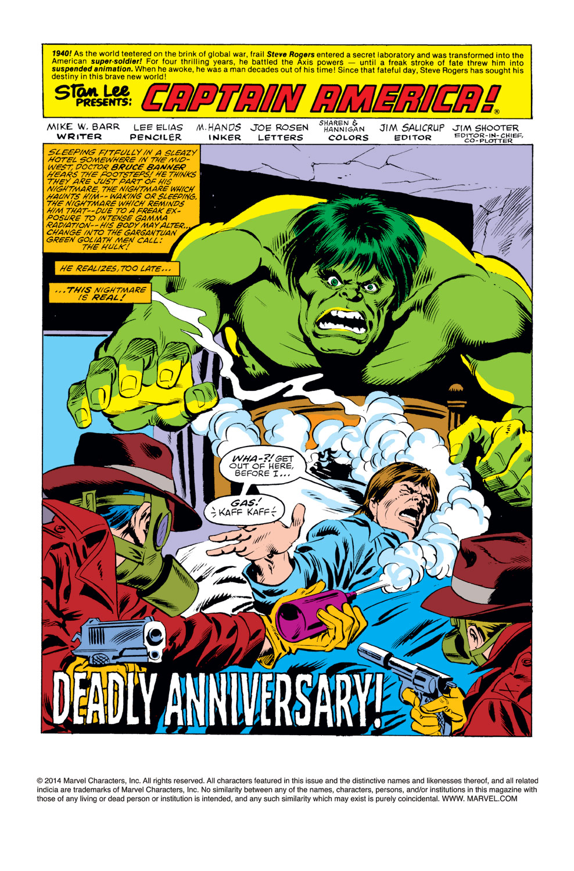 Captain America (1968) Issue #257 #172 - English 2