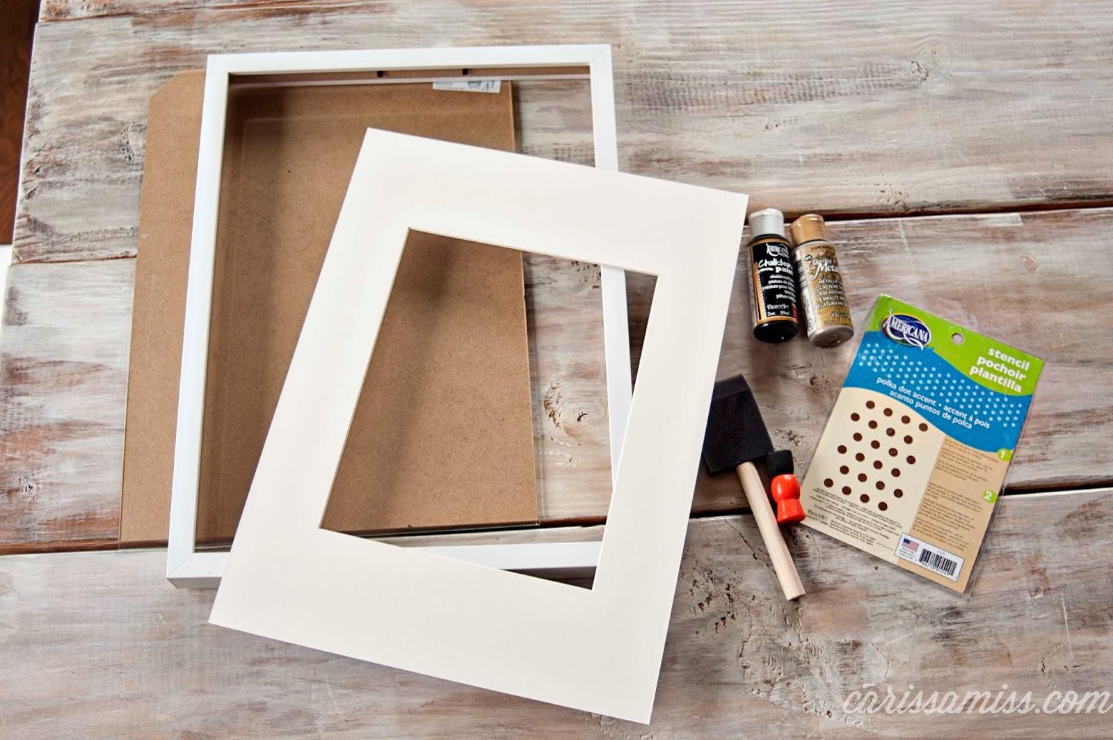 Carissa Miss: Ikea RIBBA frames hack