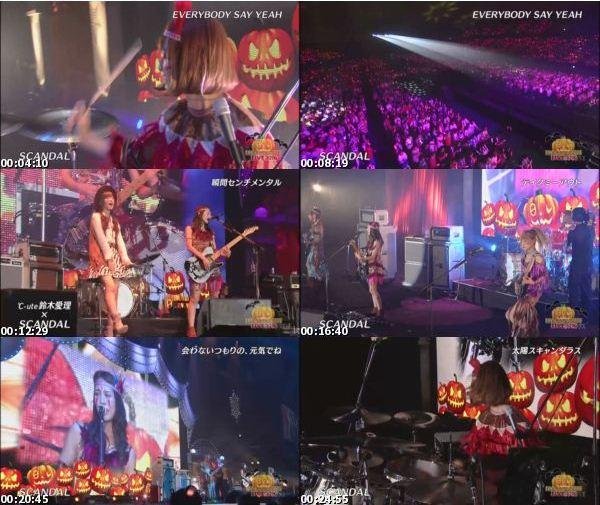 [TV-Variety] SCANDAL – NTV's HALLOWEEN LIVE 2016 (2016.10.28)