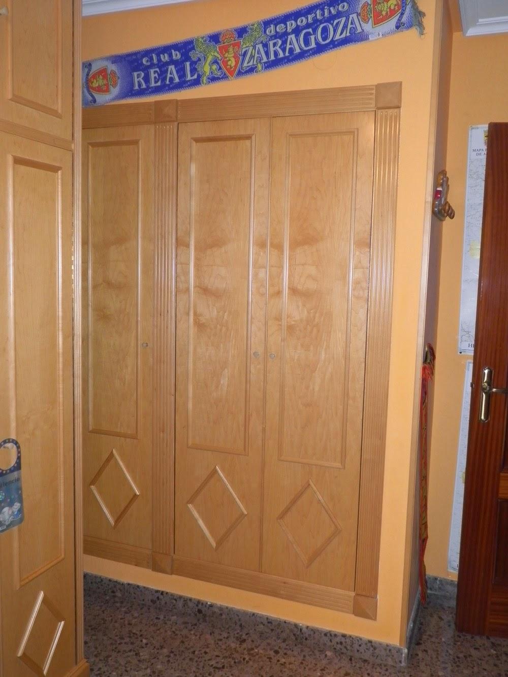 Dormitorio juvenil muebles cansado zaragoza carpintero ebanista artesano - Armarios a medida en zaragoza ...