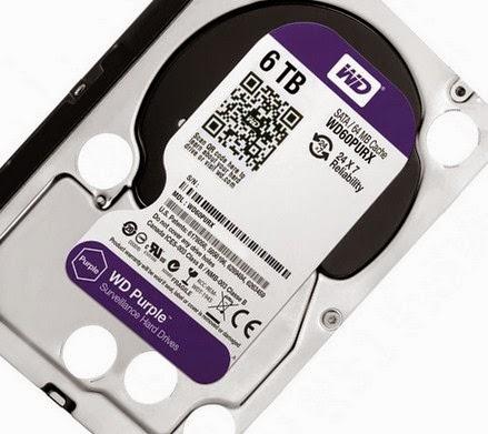 Western Digital Rilis Hard Disk Berkapasitas 6TB Anti Pencurian
