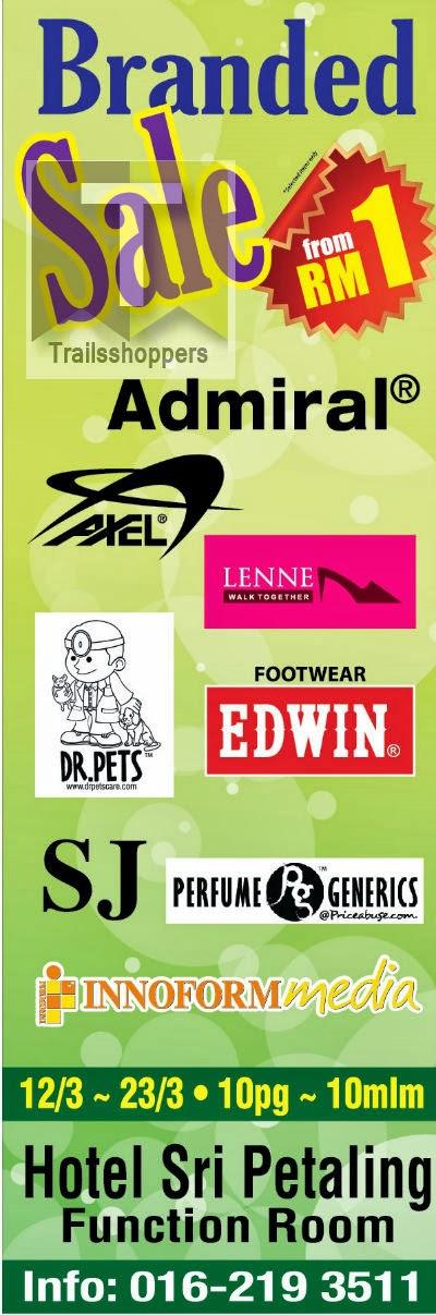 Branded Warehouse Sale Kuala Lumpur Perfume Shoes