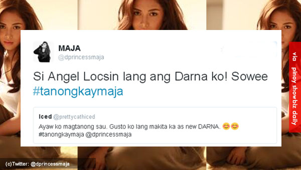 Maja Salvador still bets for Angel Locsin as Darna