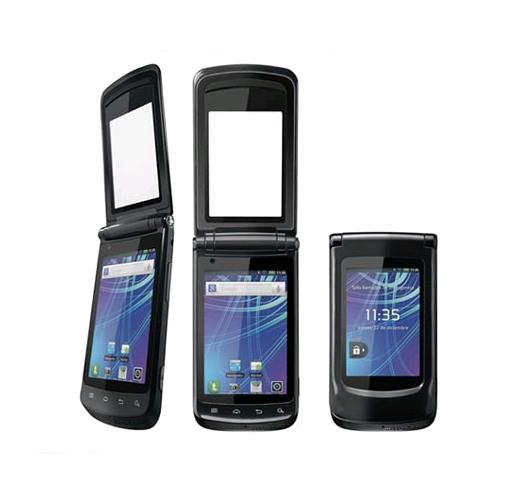 Motorola Motosmart Flip XT611 | with Social Graph