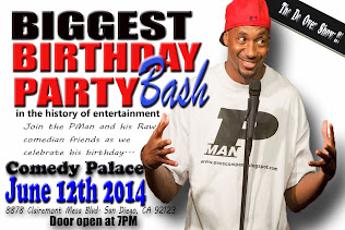 PMan's Birthday Comedy Bash