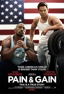 Wahlberg and Dwayne Johnson star in Pain & Gain