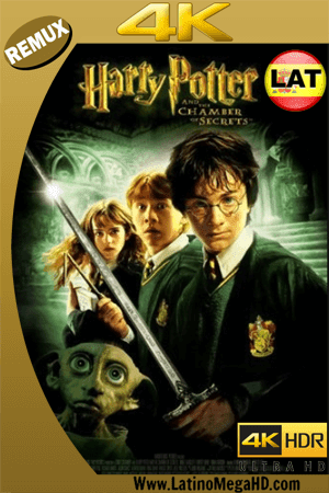 Harry Potter y la Cámara Secreta (2002) Latino Ultra HD BDREMUX 2160P ()