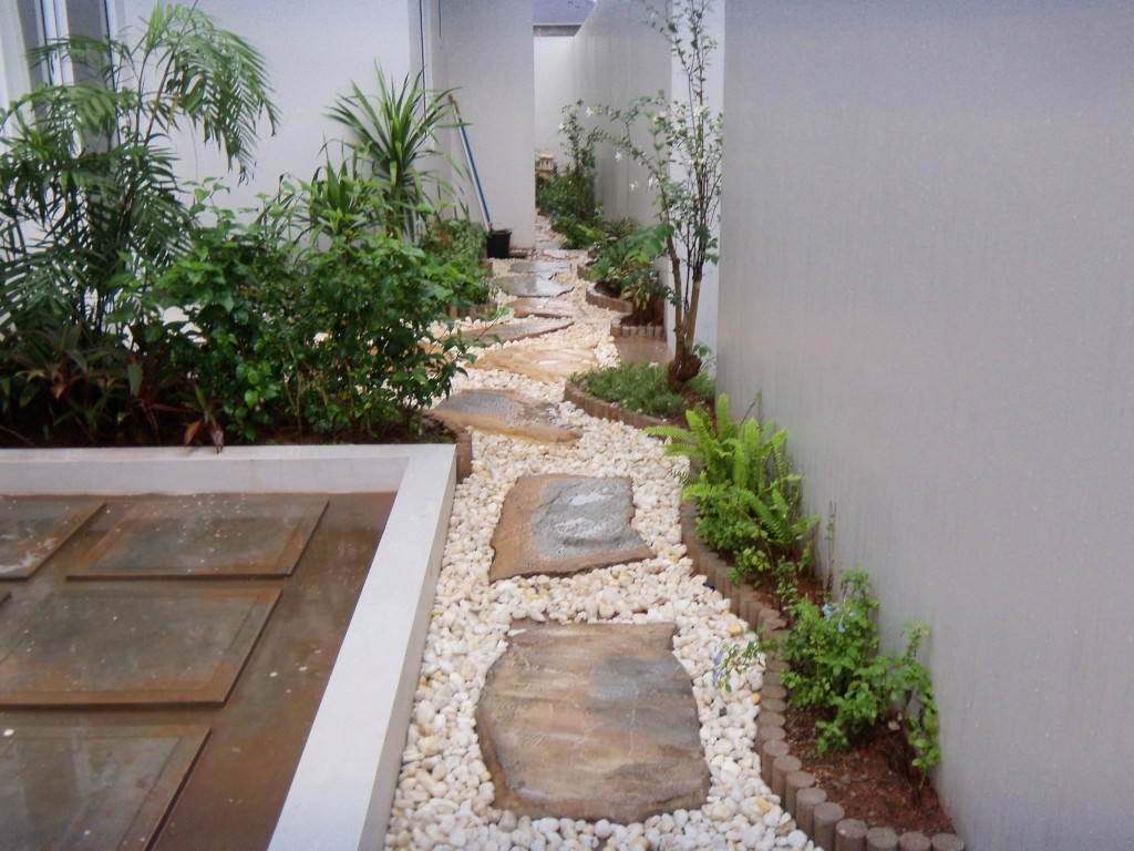 10 desain gambar taman rumah cantik modern sederhana dan