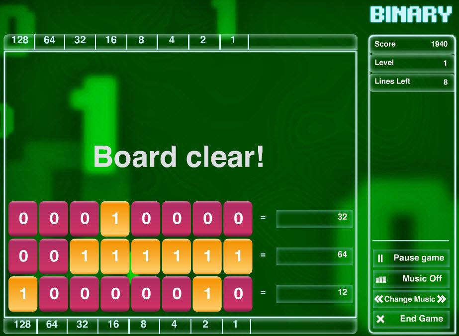 Clark Aldrich First Drafts: Profile: Cisco Binary Game