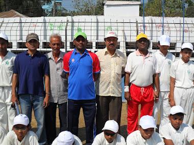 Professor Josim Uddin & Cox's Bazar Blind Cricket Team