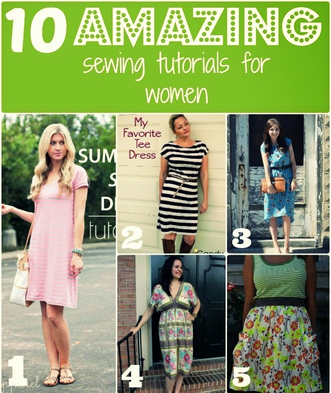 10 Amazing Sewing Tutorials for Women