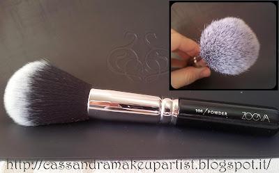 ZOEVA - Nuovi Pennelli 2013 - Complete Set - new brushes brush 2013 - review - recensione - foto - brush cleanser - viso - occhi