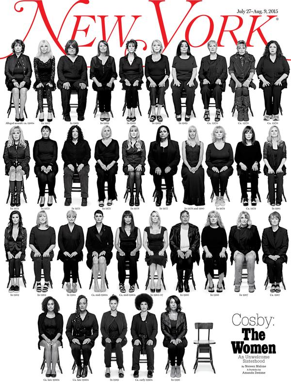 35 Women Allegedly Raped by Bill Cosby Appear on the Cover of New York Magazine