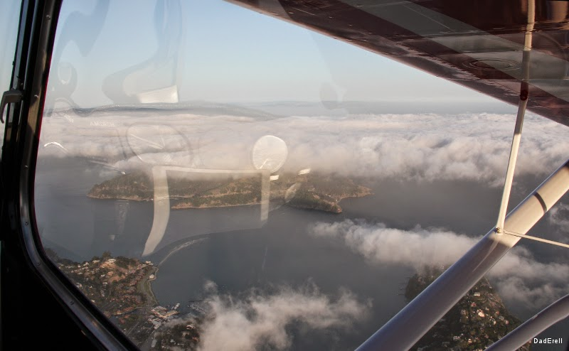 Marine Layer sur Angel Island