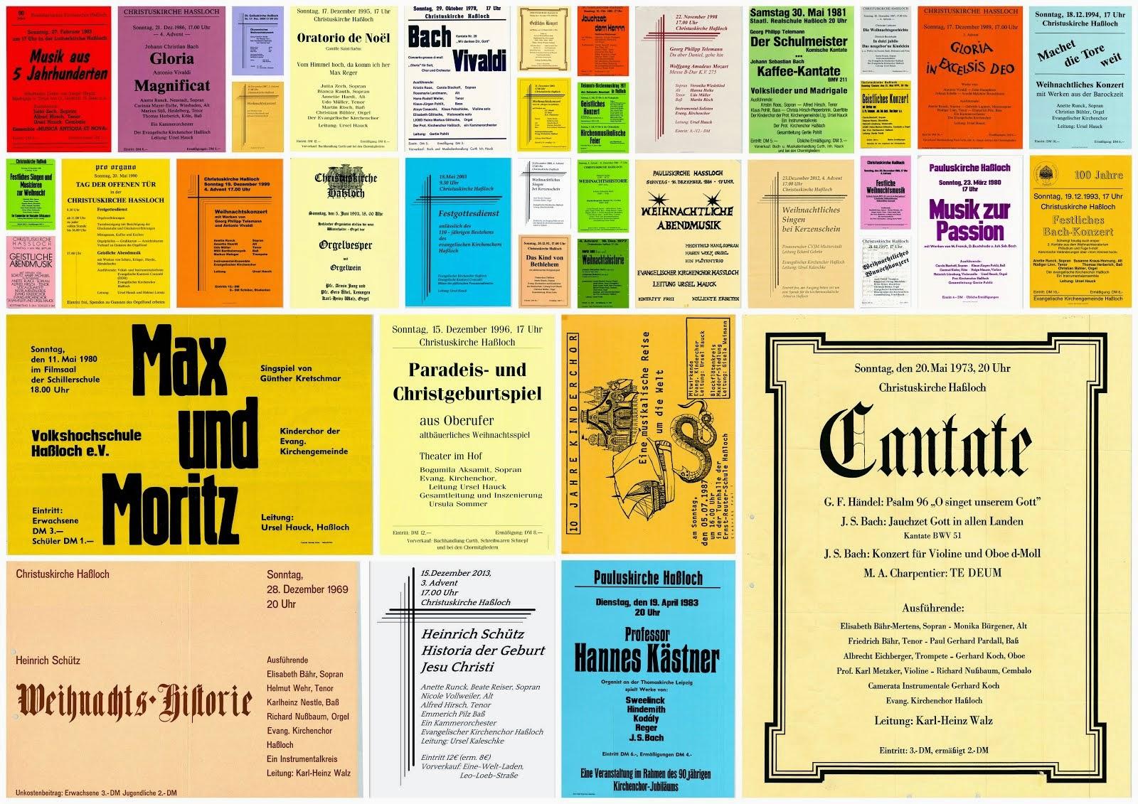 Konzertplakate