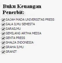 Jual Buku Keuangan Penerbit Ghalia, Gerai, Semesta, UGM Press Murah