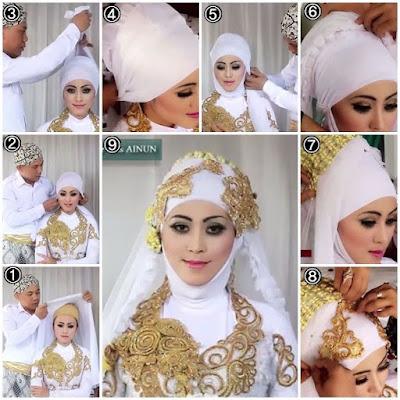Tutorial Hijab Untuk Pesta Pernikahan