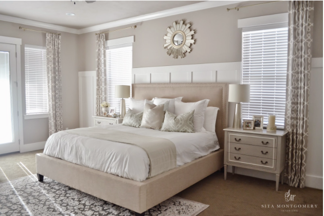 Another Bedroom That Made Me Stop In My Tracks Recently Is That Belonging To Sita Montgomery The Whole Room Is Neutral Perfection