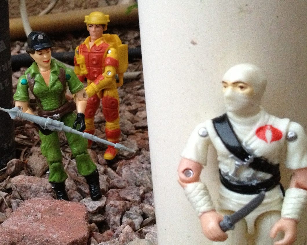 Funskool Lady Jaye, Plastirama Blow Torch, European Exclusive Mutt, Cobra De Hielo, Stormshadow, Red Shadow Cobra Invasor, Flint, Action Force Z Cycle