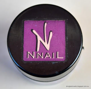KKCenterhk NNail Purple Circle Glitter