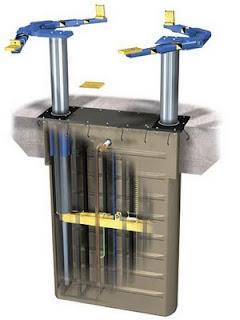 rampas elevadores autos rotary lift