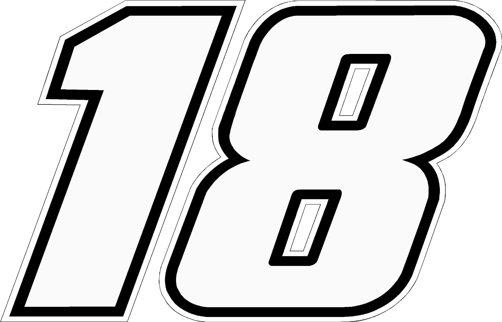 Kyle Busch  Race Car Numbers