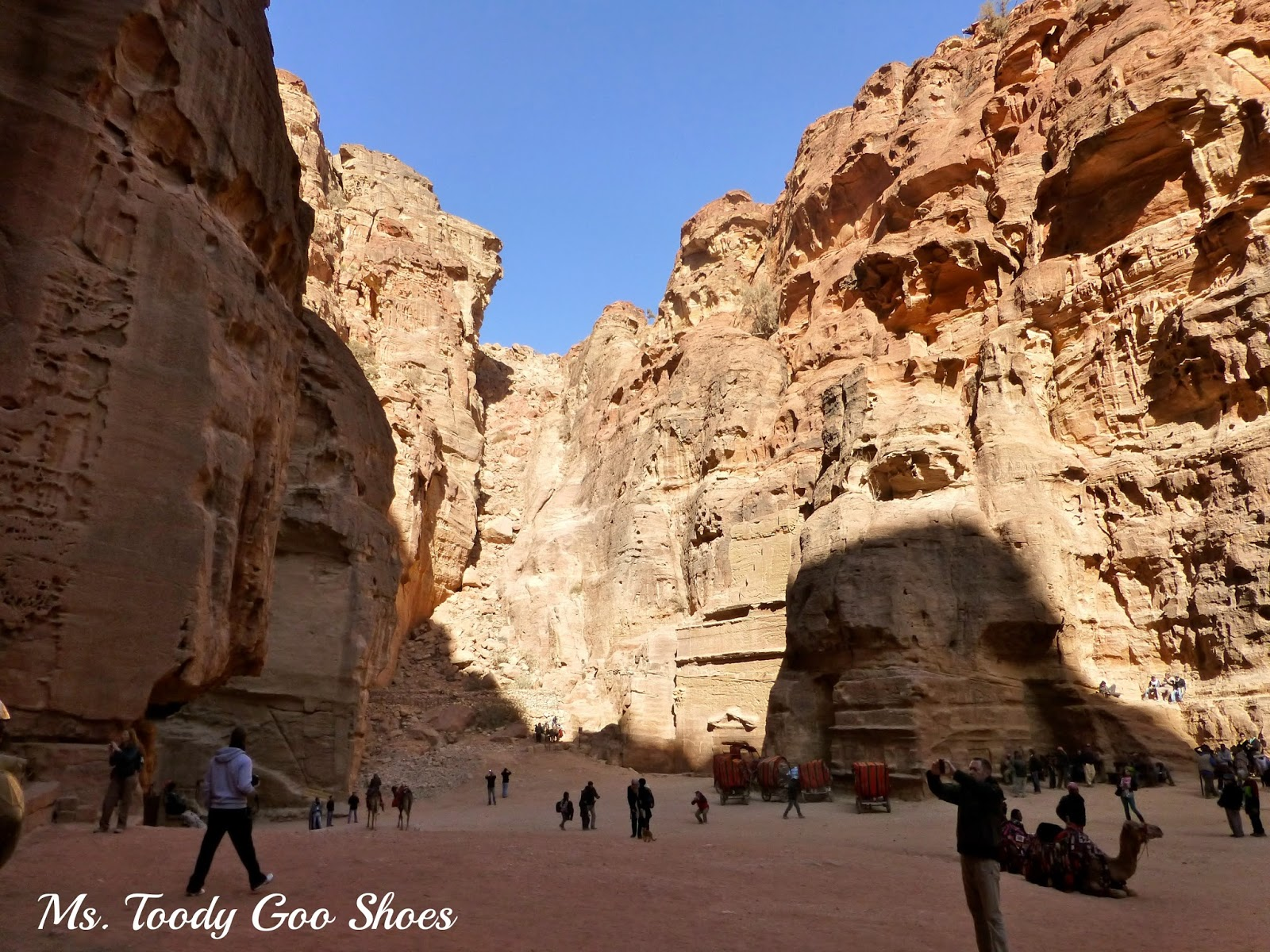 Petra : The Lost City  --- by Ms. Toody Goo Shoes
