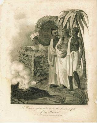 Londres 1811. Mujer que va a ser quemada. Lacasamundo.com