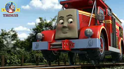 Sodor fire station heroic hero Thomas train and friends Flynn tank engine race to the rescue vehicle