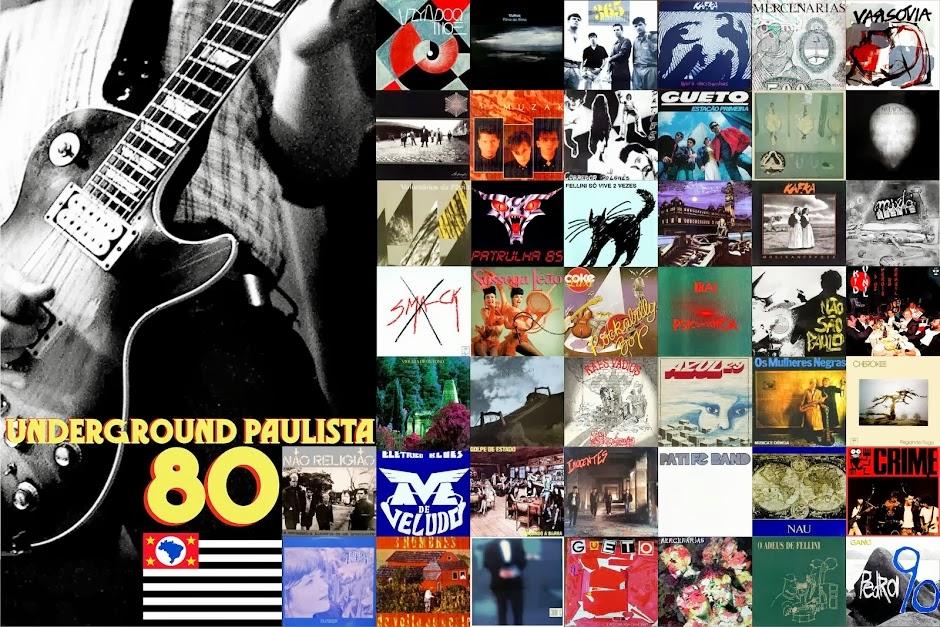 Painel do Rock Brasileiro 80