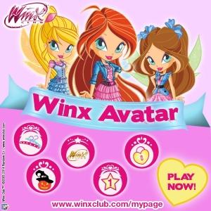 ¡Crea tu avatar Winx!