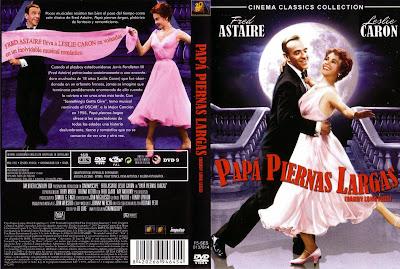 Papa piernas largas [1955] - Caratula - Cine clásico musical